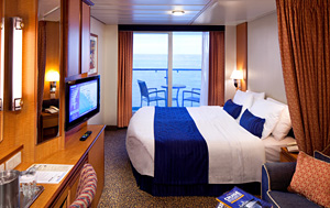 Royal Caribbean balcony cabin